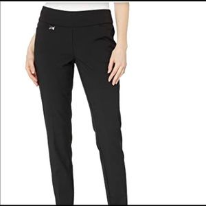 Lisette L Montreal Charcoal Gaby Stretch Slim Pant